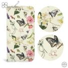 apbs iPhoneXS / iPhoneX 施華水晶鑽皮套-蝴蝶