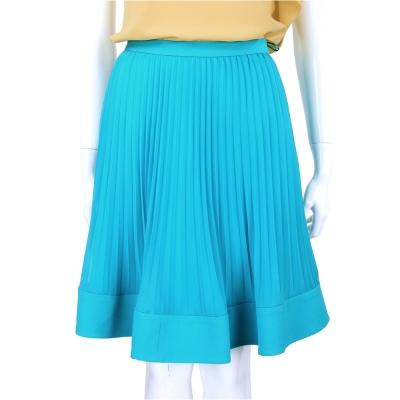 PHILOSOPHY 土耳其藍百摺設計及膝裙