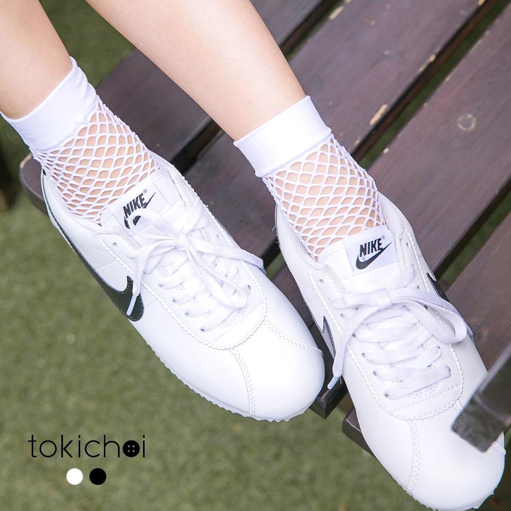 東京著衣 微性感網格透肌短襪(共二色)