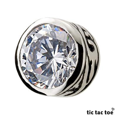 【tic tac toe】夏日圖騰 白鋼耳環(單一入)