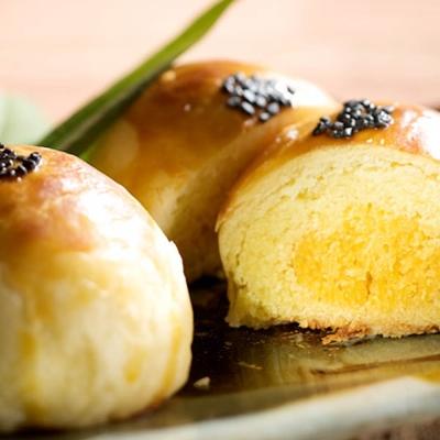 漢坊 金韻蛋黃酥8入禮盒(蛋奶素)(金韻蛋黃酥*8)