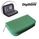 DigiStone 22片裝多功能記憶卡收納包(18SD+4CF)-綠X1P product thumbnail 1