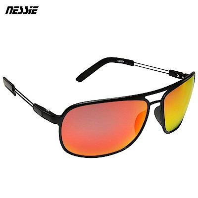 Nessie尼斯眼鏡 經典休閒偏光太陽眼鏡 飛官砂黑