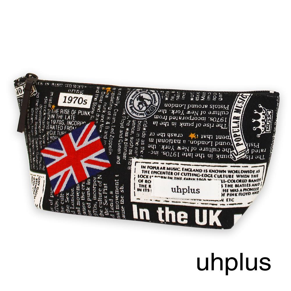 uhplus 萬用收納包-小倫敦(黑)