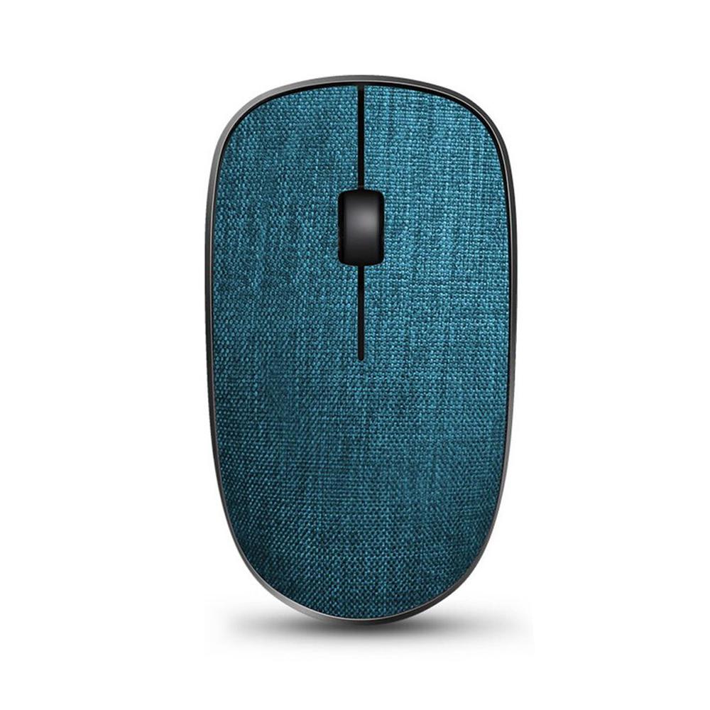 Rapoo雷柏 北歐風布面無線滑鼠 3510 PLUS-藍