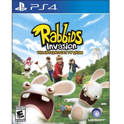 瘋狂兔子全面侵略 TV 互動遊戲 Rabbids Invasion-PS4英文美版