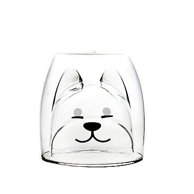 FUSHIMA 2018年度限定-雙層耐熱玻璃杯旺福款200ML