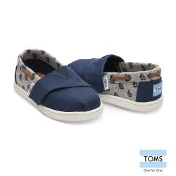 TOMS 帆船抽繩懶人鞋-幼童款