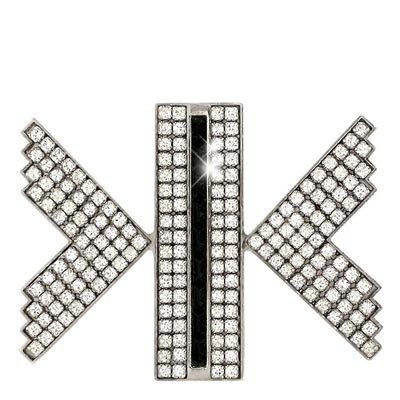 SWAROVSKI ATELIER系列璀璨光芒水晶鑲嵌胸針