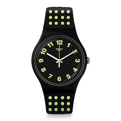 Swatch The Swatch Vibe PUNTI GIALLI 黃色圓點手錶