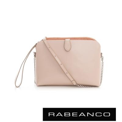 RABEANCO 迷時尚系列鍊帶設計肩背包 - 粉紅