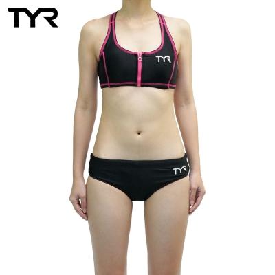 美國TYR女用修身兩件式泳裝Scuba Bikini Top w台灣總代理