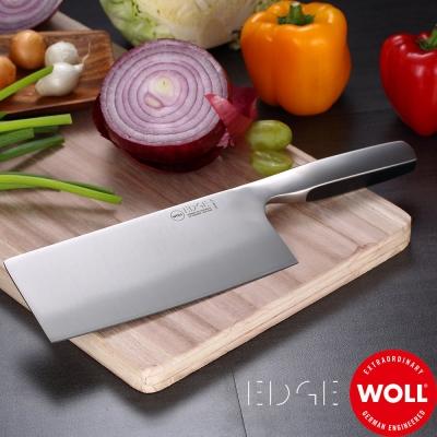 德國WOLL 冰鍛不銹鋼中式菜刀17cm
