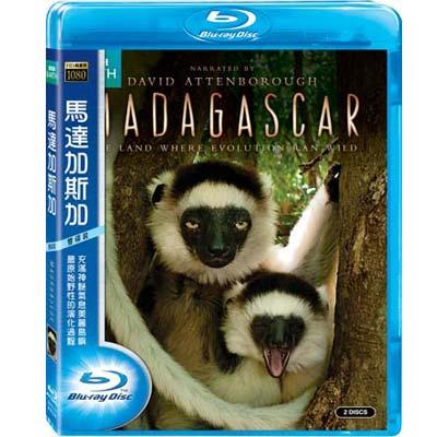 BBC  馬達加斯加 Madagascar  雙碟版  藍光 BD