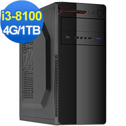 技嘉B360平台[金龍星將]i3四核效能電腦