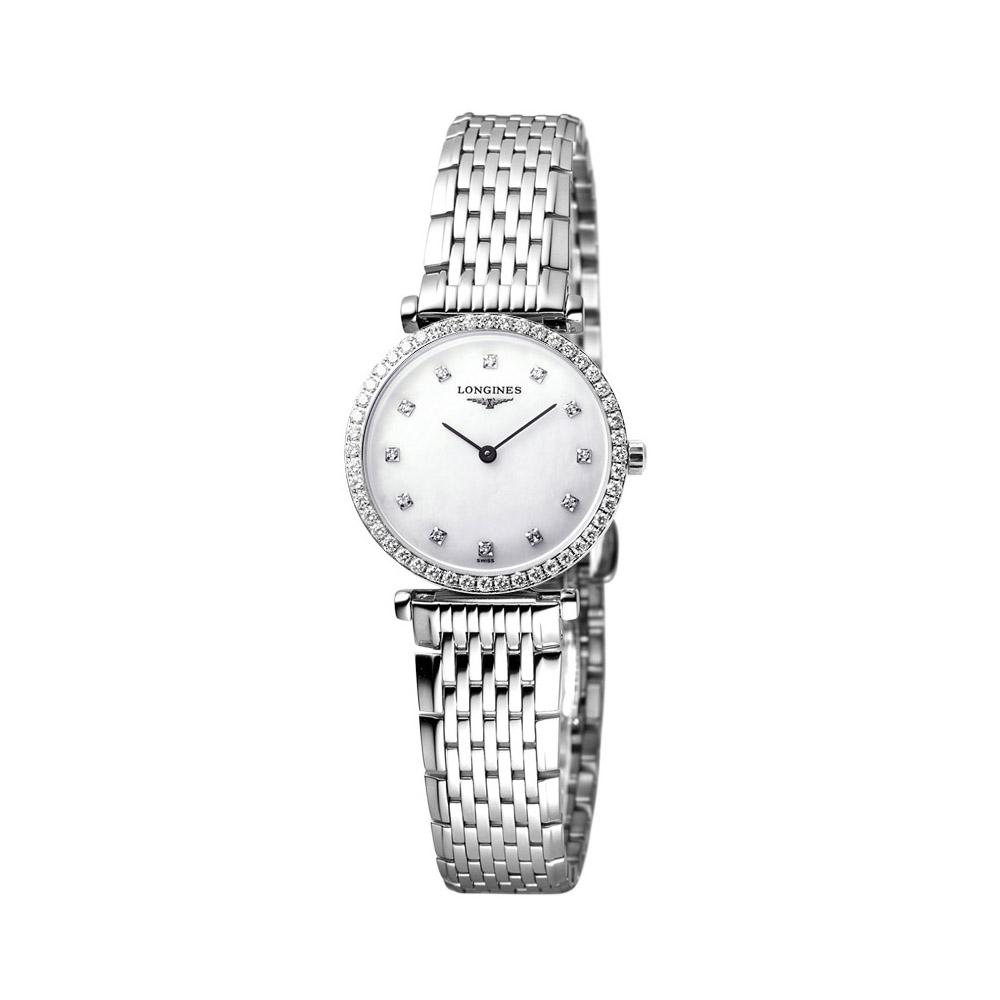 LONGINES 嘉嵐系列限量鑽錶 (鑽框) L42410806