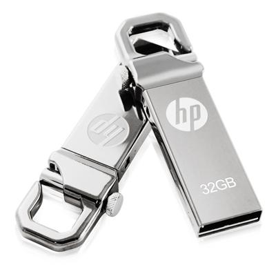 HP 32GB 勾勾金屬精品隨身碟 v250w