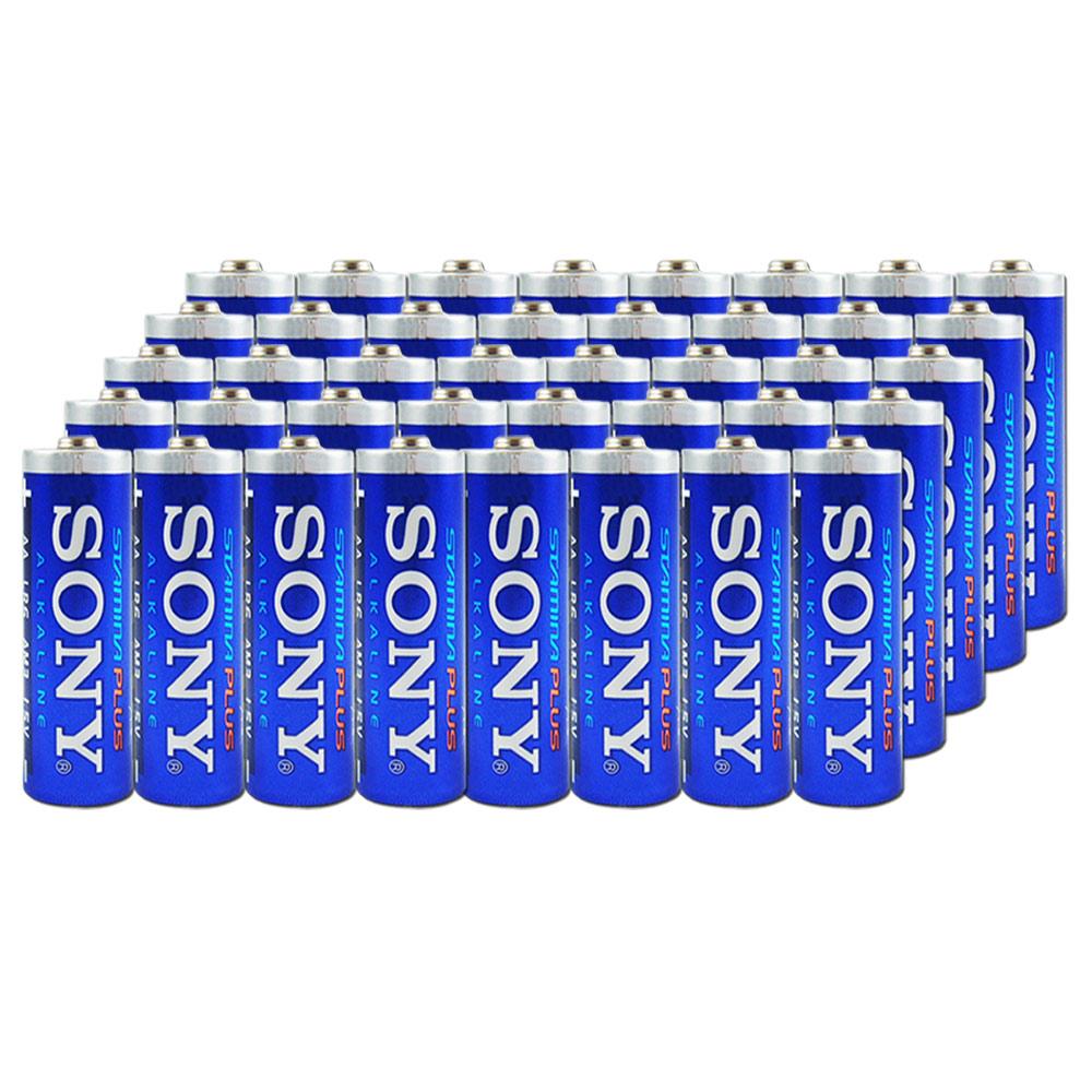 SONY 3號高效能鹼性電池-40入裝
