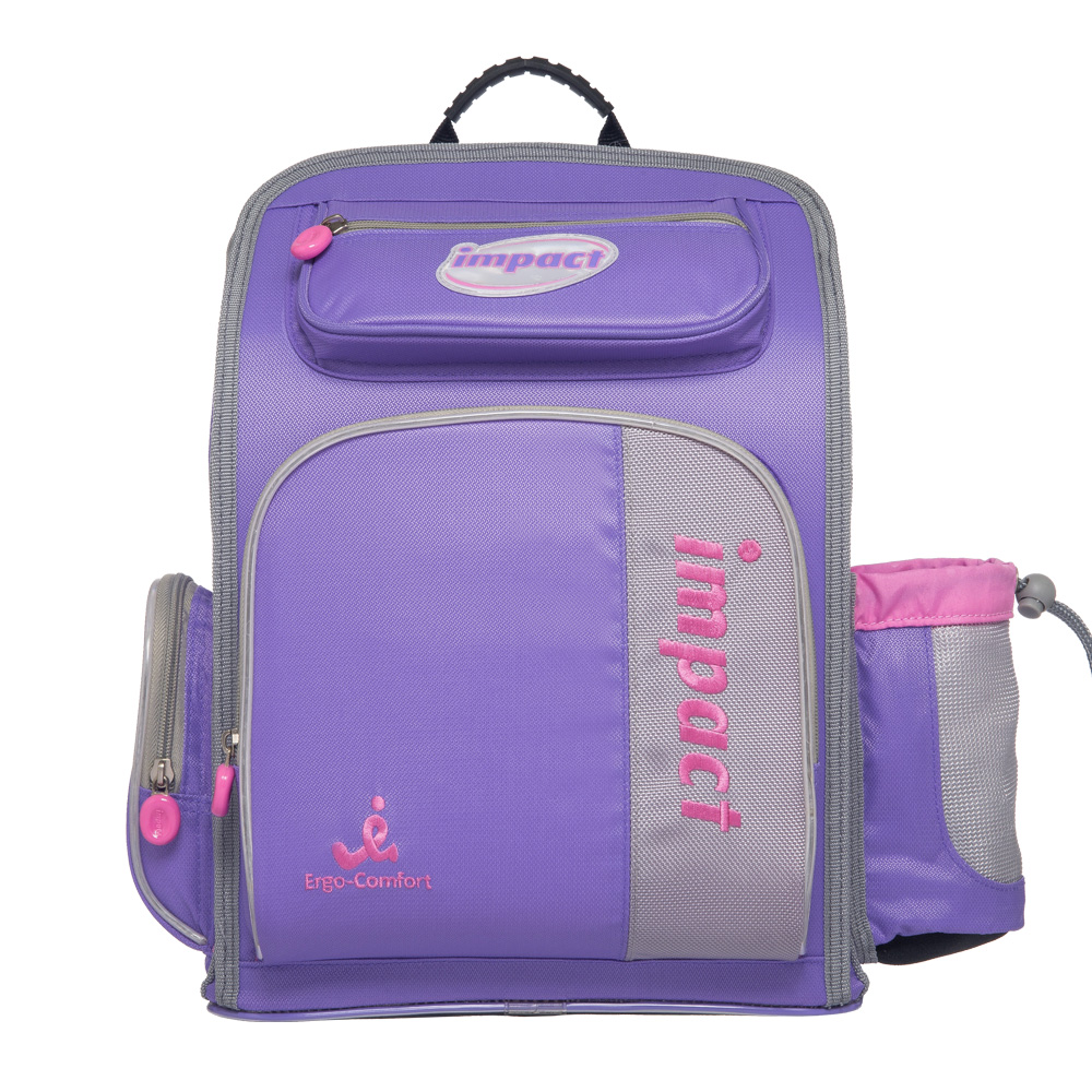 IMPACT怡寶標準型舒適護脊書包-粉紫IM0050APL