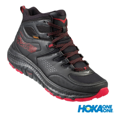 HOKA ONE ONE 快速健行鞋 Tor Tech Mid WP 男 黑