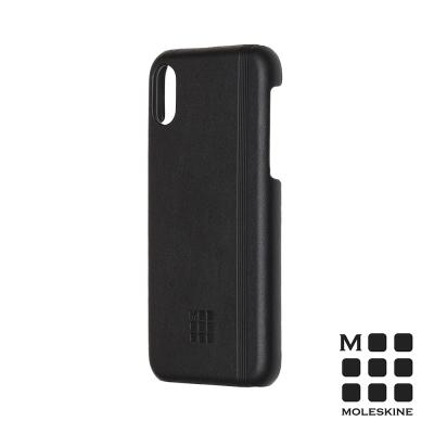 MOLESKINE iPhone X 經典硬殼套-黑