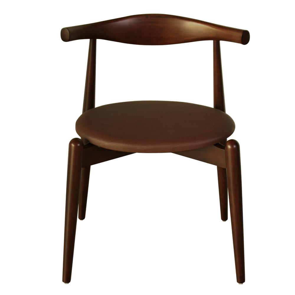 【CASA卡莎】沃達德經典牛角椅-咖啡