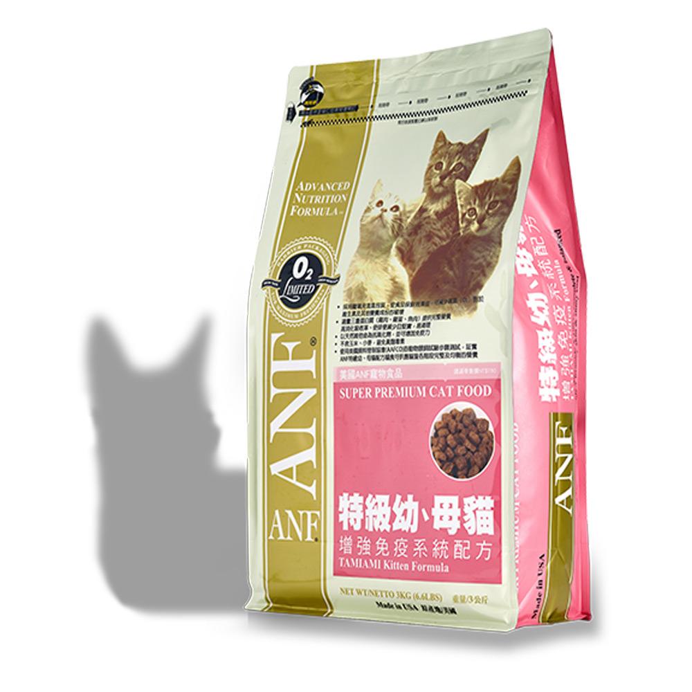 美國愛恩富ANF 特級幼母貓配方 貓飼料7.5kg