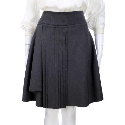 PHILOSOPHY 打褶造型及膝裙(深灰色)