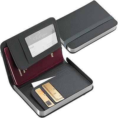 PHILIPPI 書扉證件護照夾(灰)