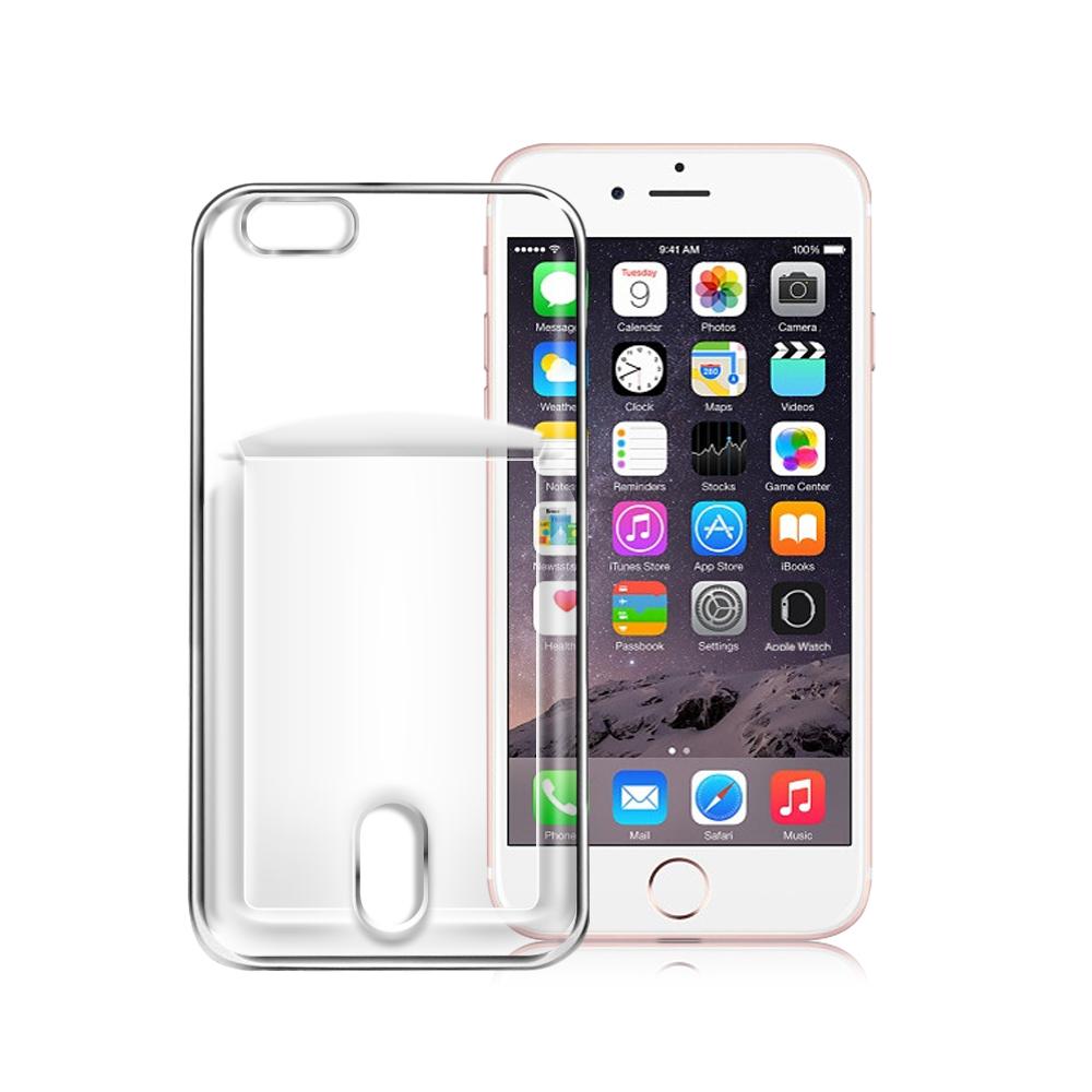 CITY for iPhone 6S Plus/ 6 Plus 防滑插卡薄型手機殼