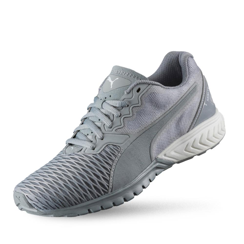 PUMA IGNITE Dual Wns女性慢跑運動鞋-石頭灰