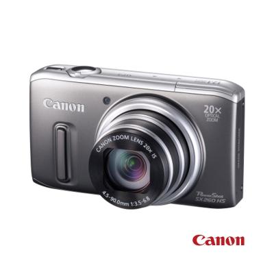 Canon PowerShot SX260 HS 銀色 福利品