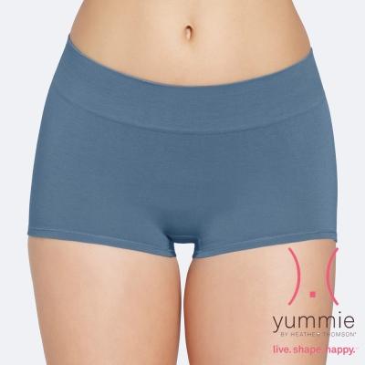 專利式調溫纖維平口褲-海藍色-Maya-Girl-Short-Yummie-Life