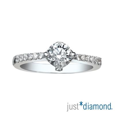 Just Diamond 30分18K金鑽石戒指-呼喚