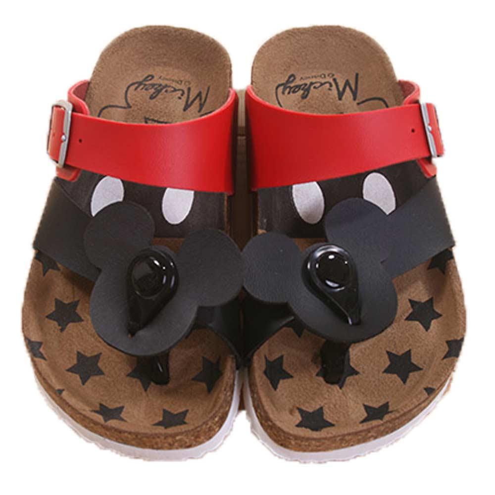 魔法Baby台灣製迪士尼米奇兒童涼拖鞋 sh7674