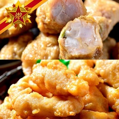 五星御廚-港灣天婦羅  熱銷組-2 (花枝天婦羅X6、芋頭捲X6)