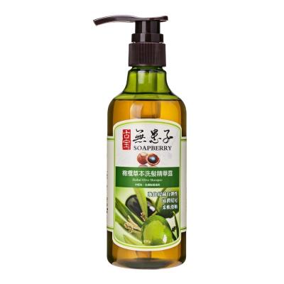 古寶無患子橄欖油萃取草本洗髮精華露450g