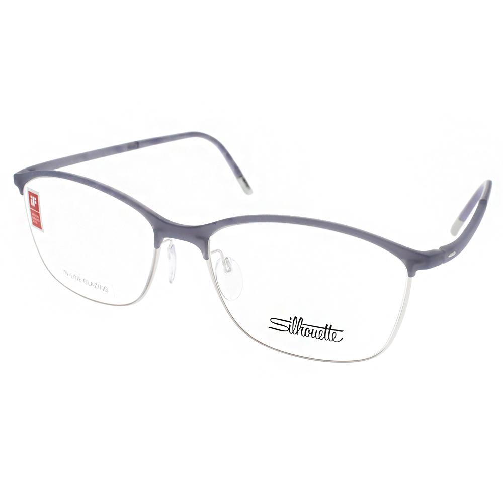 Silhouette詩樂眼鏡 極致工藝/透紫-銀#ST1575 C6062