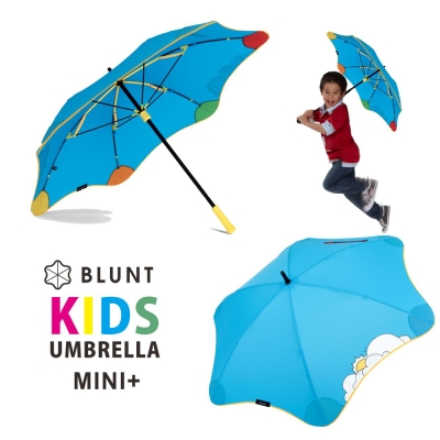 紐西蘭BLUNT- 保蘭特可變色安全兒童傘 – 直傘小號 (風格藍)