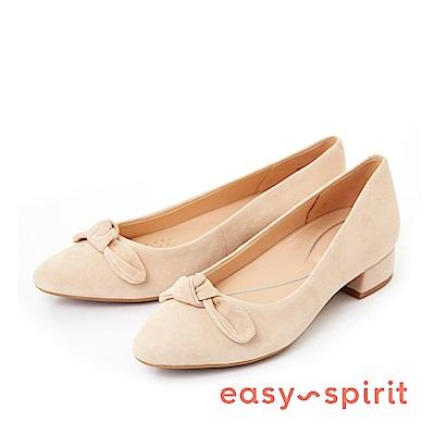 Easy Spirit--蝴蝶結尖頭低跟鞋-好感膚