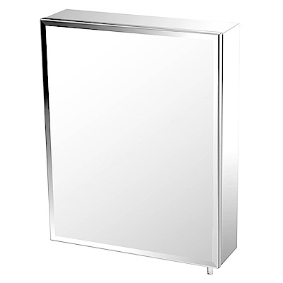 TRENY 浴室鏡箱-單門-不鏽鋼