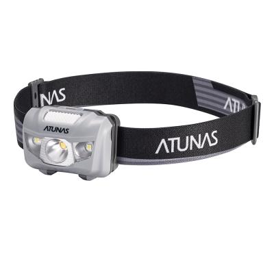 【ATUNAS 歐都納】超亮型耐用輕巧頭燈(探勘/探洞/登山 A-L1702 光影灰)