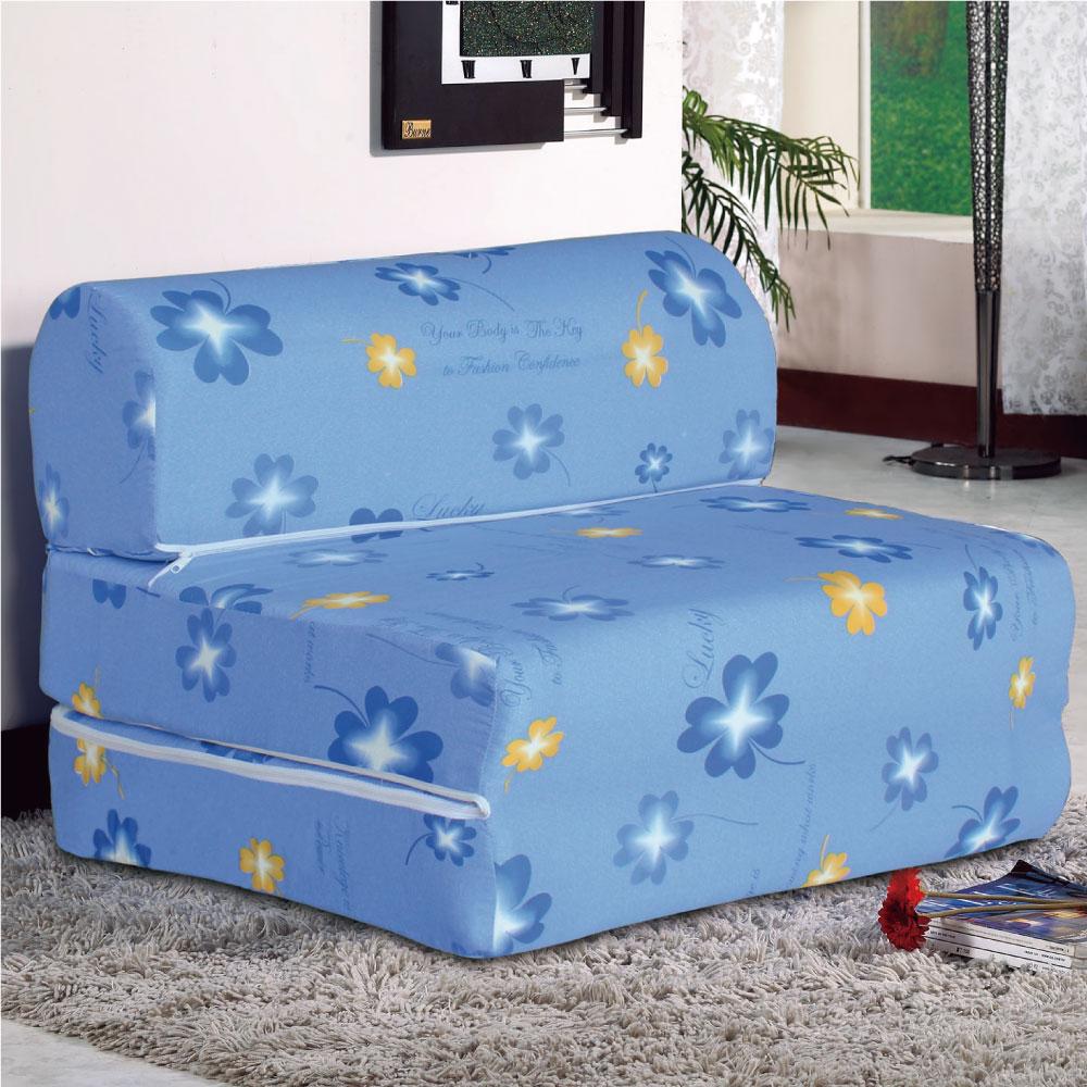 居家生活 香多葉3尺彈簧沙發床
