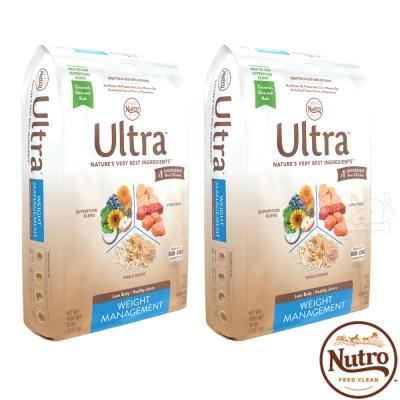 【Nutro 美士】Ultra 大地極品 低卡輕食 配方 犬糧 4.5磅 X 2包