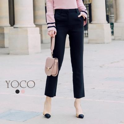 東京著衣-yoco安琪聯名法國女人優雅修身西裝褲-XS.S.M.L共二色