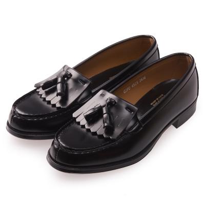 (女)日本 HARUTA 經典流蘇紳士鞋-黑色