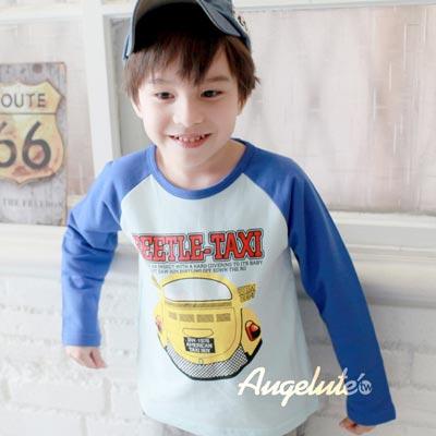 【baby童衣】圓領T恤打底衫男童長袖上衣純棉運動童裝 35282