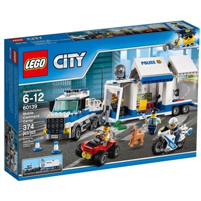 樂高LEGO城市系列 - LT60139 行動指揮中心