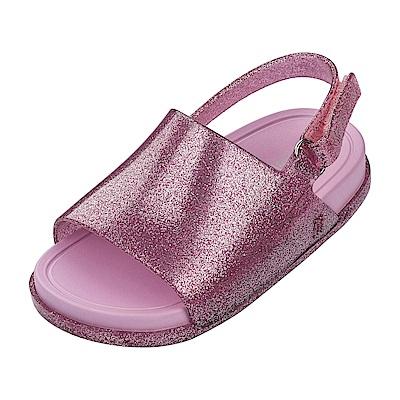 MINI MELISSA夏日時尚海灘童鞋-燦粉