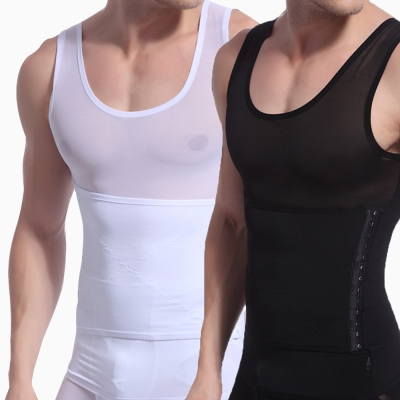 LEADER 男性塑身專用背心高機能三段調整型 (2件組)